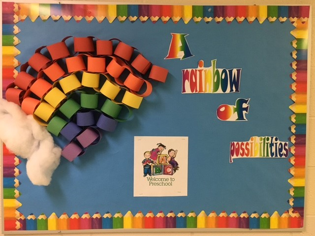 Rainbow Bulletin Board Picture