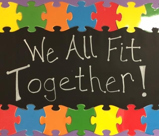 Puzzle Bulletin Board Photo