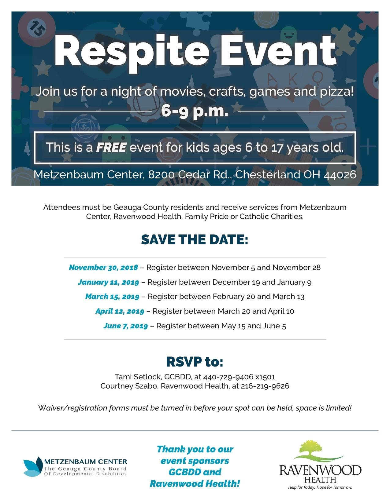 Respite Event