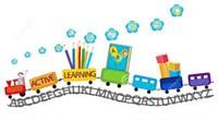 Preschool Train Clip Art