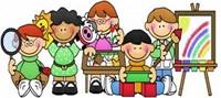 Preschool Clip Art of Students